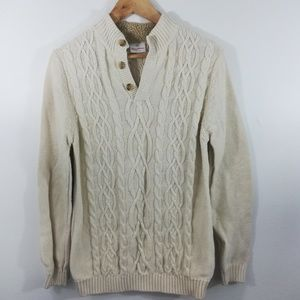 Hanna Andersson Cable Knit Sweater Size 160 14-16